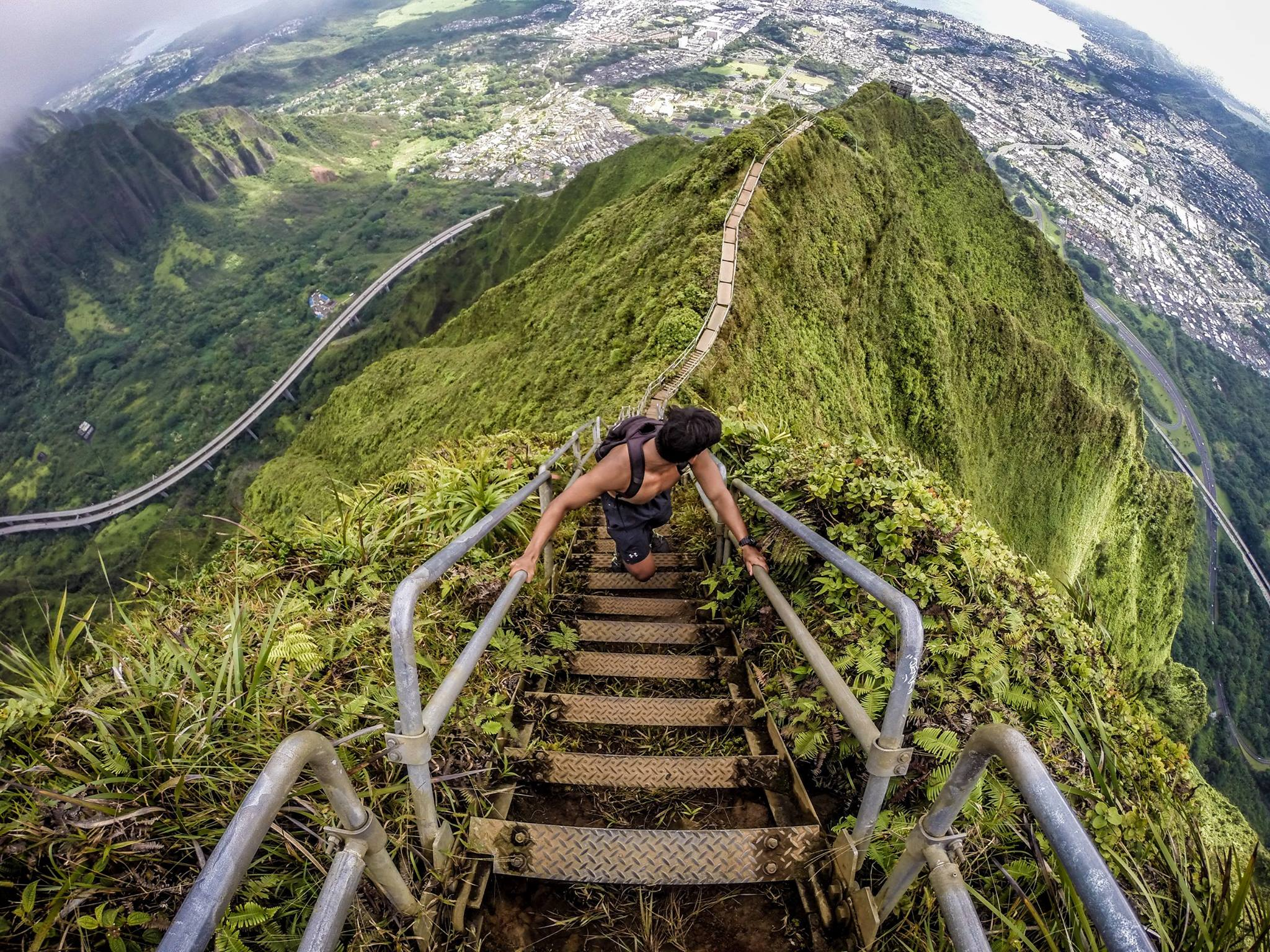 The Haiku Stairs, Hawaii