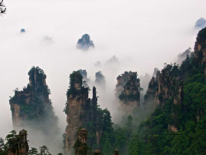 Tianzi Mountain Nature Reserve, China