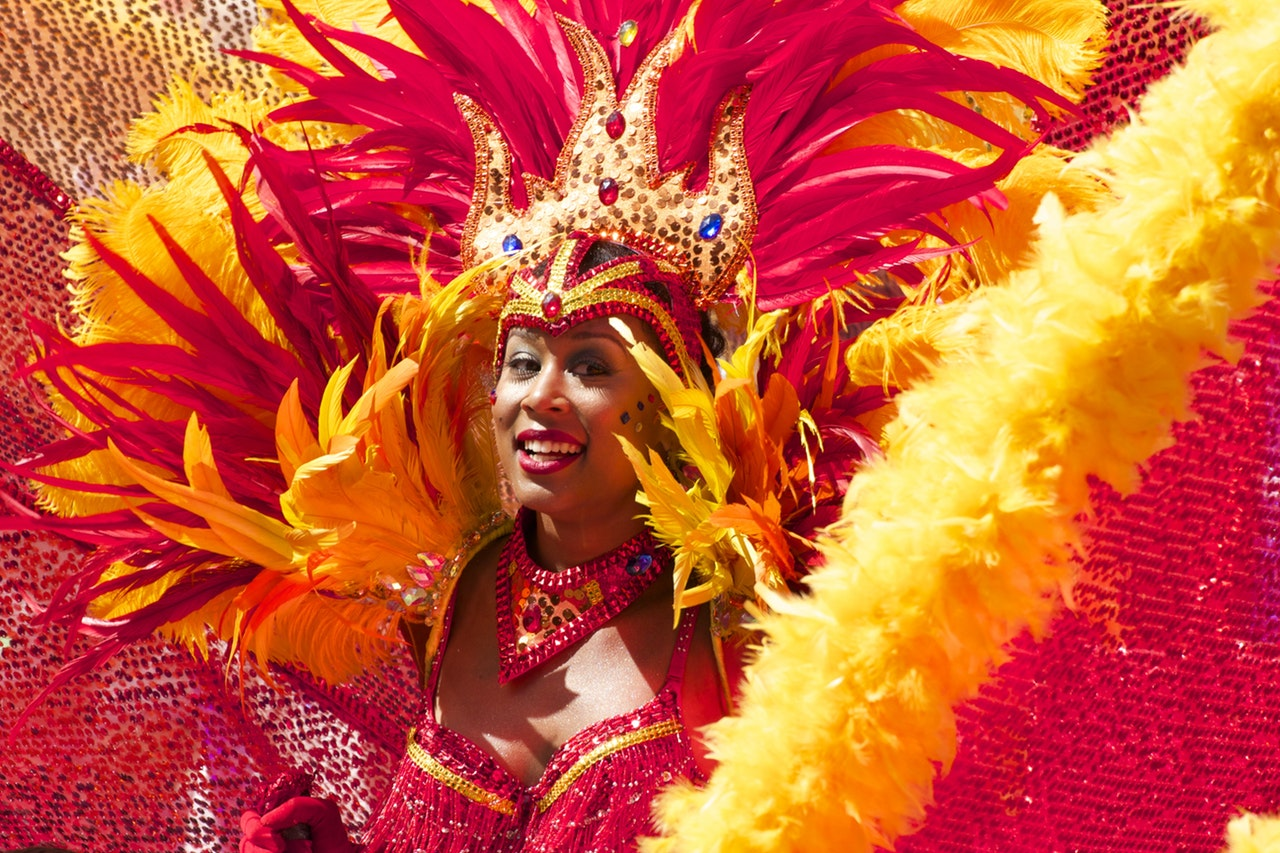 Woman in Rio Carnival