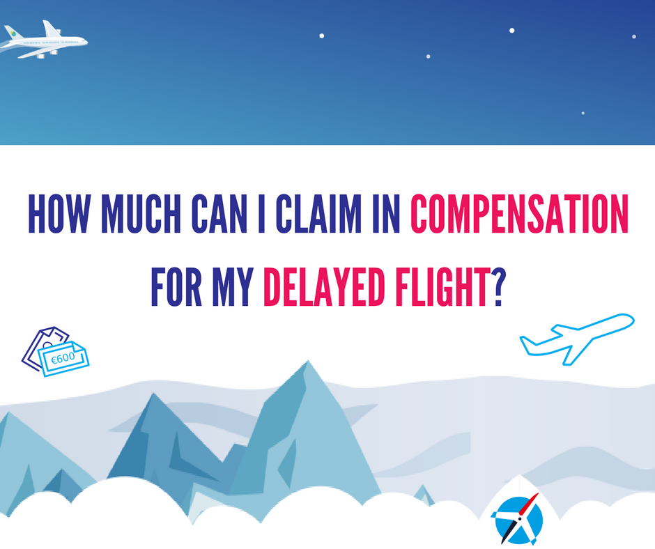 How Much Can I Claim in Compensation for my Delayed Flight?