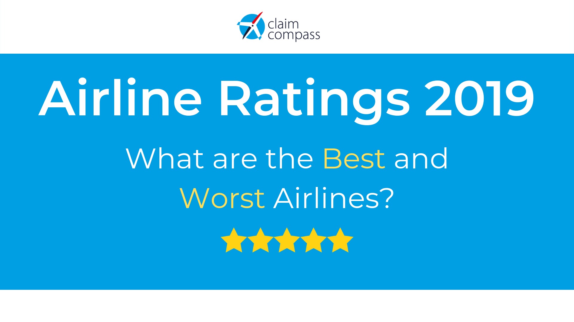 We Rated 150 Carriers. Here Are the World's Best and Worst Airlines.