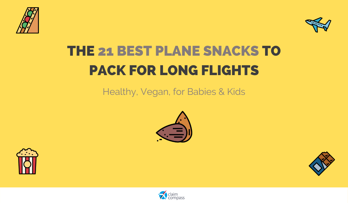 The 21 Best Plane Snacks to Pack for Long Flights