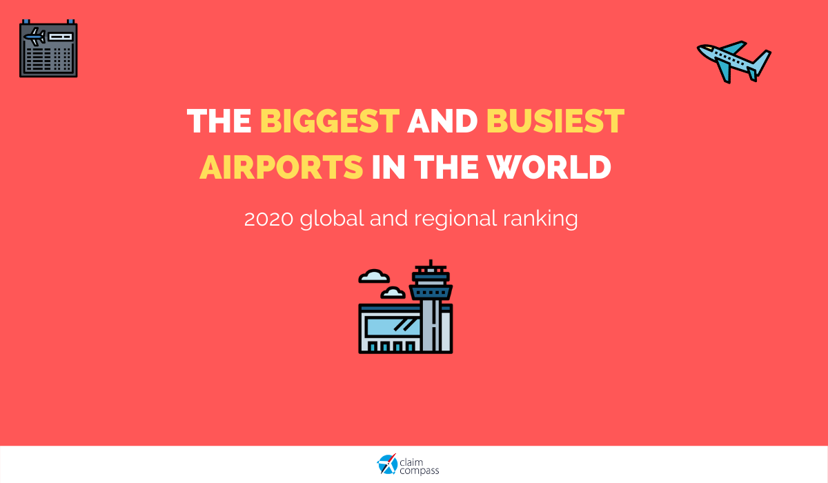 The Biggest and Busiest Airports in the World in 2021