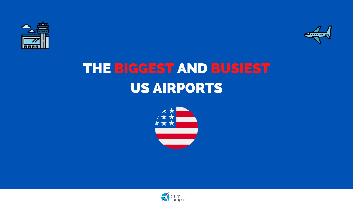 The Biggest and Busiest Airports in the US in 2020