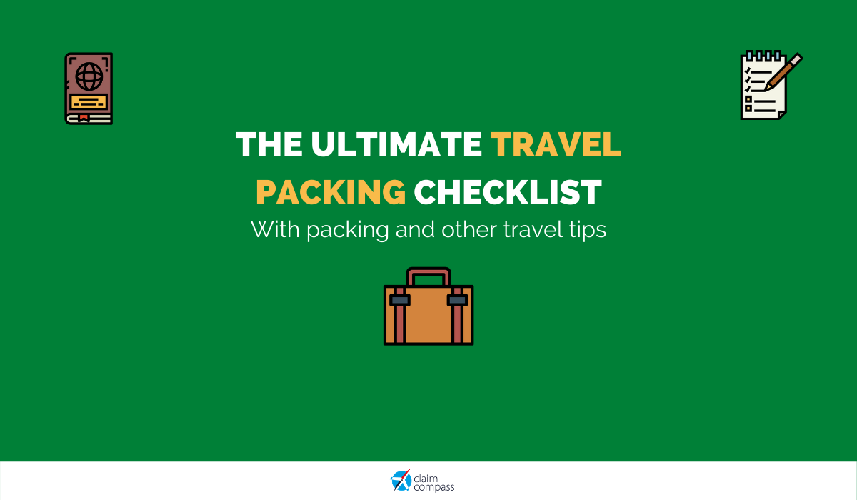 The Ultimate Travel Packing Checklist for Holidays (or Not)