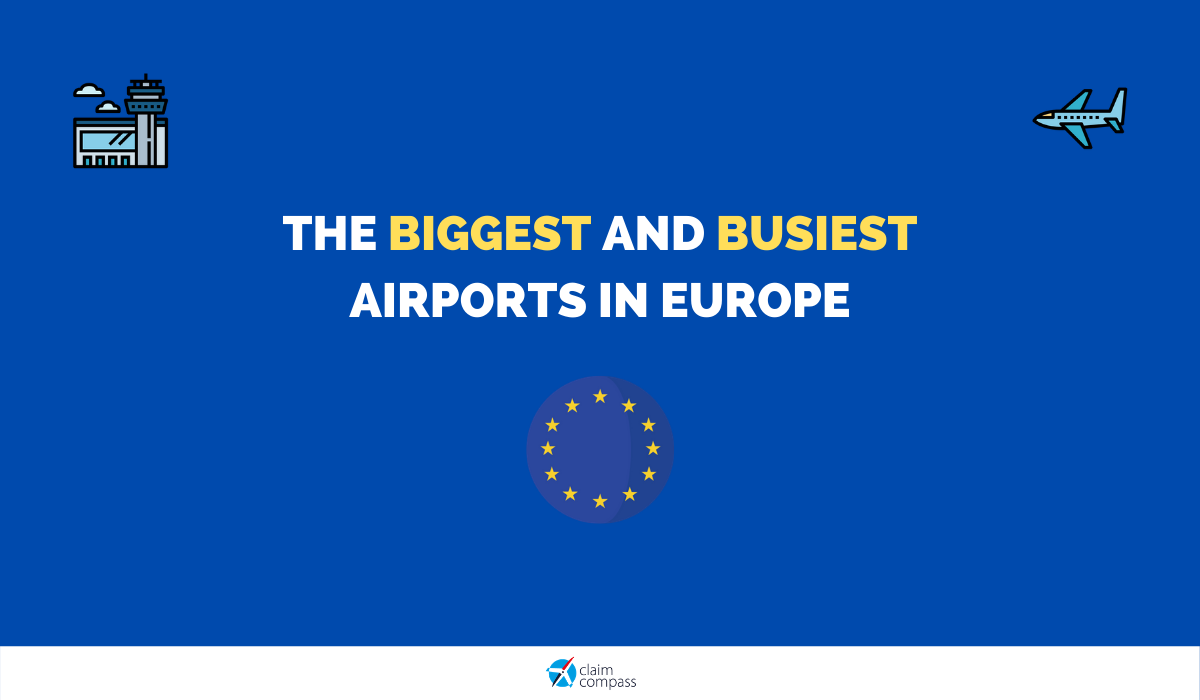 The Biggest and Busiest Airports in Europe in 2020